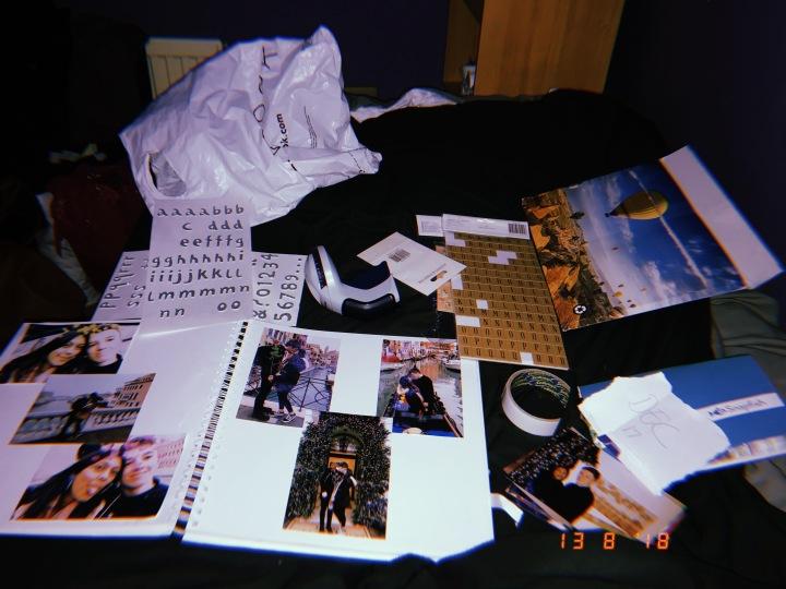 Making Memories: Scrapbooking