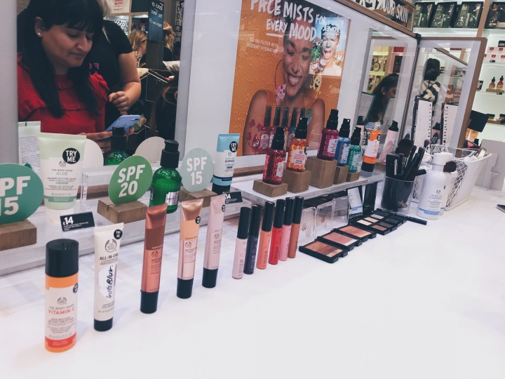 The Body Shop Blogger Event & Haul